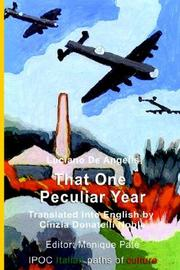Cover of: That One Peculiar Year | Luciano De Angelis