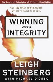Cover of: Winning with integrity