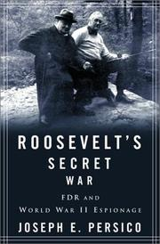 Cover of: Roosevelt's Secret War