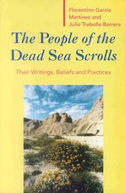 Cover of: The people of the Dead Sea Scrolls
