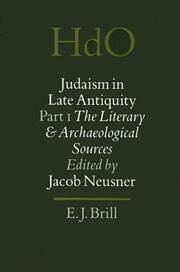 Cover of: Judaism in Late Antiquity: Part One  | Jacob Neusner