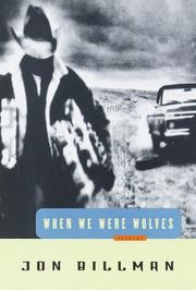 Cover of: When we were wolves