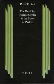 Cover of: The Dead Sea Psalms scrolls and the Book of Psalms