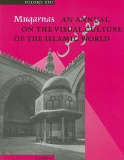 Cover of: Muqarnas- An Annual on the Visual Culture of the Islamic World | G. Necipoglu