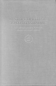Cover of: Western travellers to Constantinople | Krijna Nelly Ciggaar