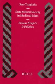 Cover of: State and rural society in medieval Islam