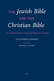 Cover of: The Jewish Bible and the Christian Bible