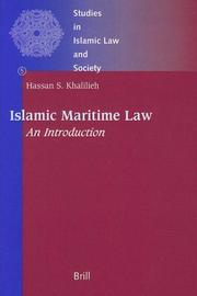 Islamic Maritime Law: An Introduction