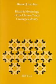 Cover of: Ritual and mythology of the Chinese triads