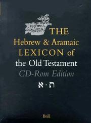 Cover of: The Hebrew and Aramaic Lexicon of the Old Testament | Ludwig Koehler