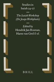 Cover of: Studies in Isaiah 24-27 |