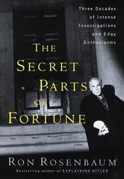 Cover of: The Secret Parts of Fortune