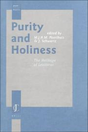 Cover of: Purity and Holiness |