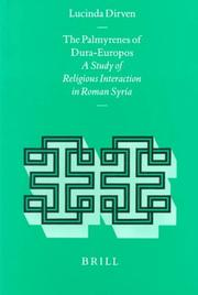 Cover of: The Palmyrenes of Dura-Europos