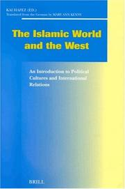 Cover of: The Islamic World and the West |