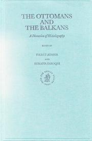Cover of: The Ottomans and the Balkans |