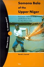 Cover of: Somono Bala of the Upper Niger | David C. Conrad