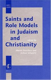 Cover of: Saints and Role Models in Judaism and Christianity (Jewish and Christian Perspectives Series) |