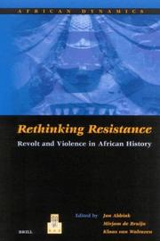 Cover of: Rethinking resistance |