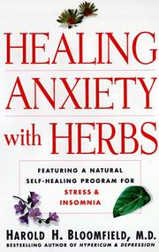 Cover of: Healing anxiety with herbs