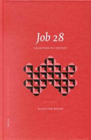 Cover of: Job 28 |