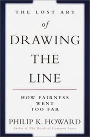 Cover of: The Lost Art of Drawing the Line