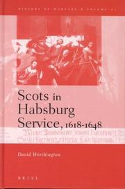 Cover of: Scots in the Habsburg service, 1618-1648 | David Worthington