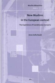 Cover of: New Muslims in the European context | Anne Sofie Roald