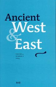 Cover of: Ancient West & East |