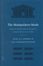 Cover of: The manipulative mode |