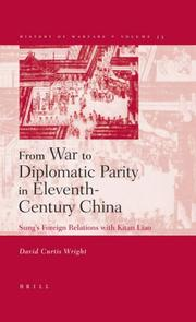 Cover of: From War to Diplomatic Parity in Eleventh-Century China