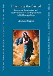 Cover of: Inventing the sacred | Andrew W. Keitt