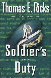 Cover of: A Soldier's Duty