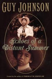 Cover of: Echoes of a distant summer