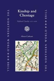 Cover of: Kinship and clientage | Alison Cathcart