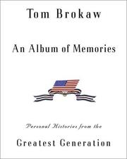 Cover of: An album of memories