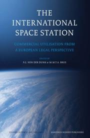 Cover of: The International Space Station |