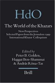 Cover of: The World of the Khazars: New Perspectives |
