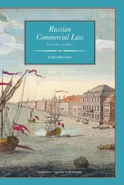 Cover of: Russian Commercial Law | Hiroshi Oda