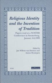 Cover of: Religious identity and the invention of tradition | Nederlandse Onderzoekschool voor Theologie en Religiewetenschap. Conference