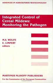 Cover of: Integrated control of cereal mildews |