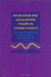 Cover of: Bifurcation & Localisation Theory Geo | Muehlhaus