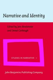 Cover of: Narrative And Identity (Studies in Narrative) |
