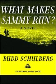 Cover of: What makes Sammy run?