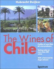 Cover of: The Wines of Chile