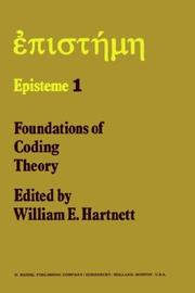 Cover of: Foundations of coding theory