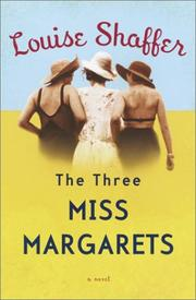 Cover of: The three Miss Margarets