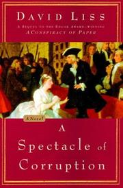 Cover of: A spectacle of corruption: a novel