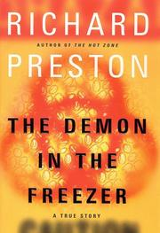The demon in the freezer by Preston, Richard