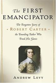 Cover of: The First Emancipator